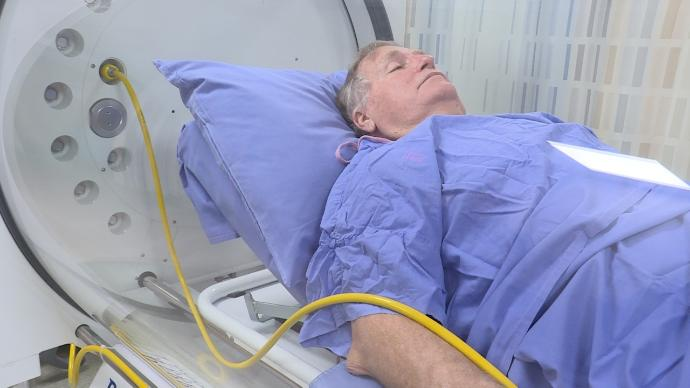 HBOT helps colorectal cancer patient with pain
