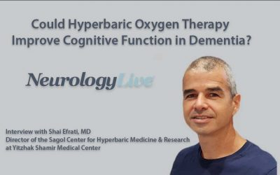 Could Hyperbaric Oxygen Therapy Improve Cognitive Function in Dementia?