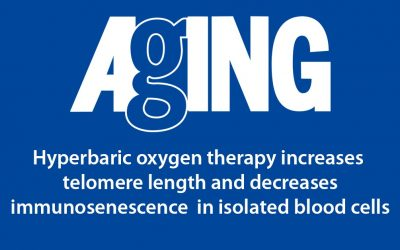 Hyperbaric oxygen therapy increases telomere length and decreases immunosenescence in isolated blood cells : a prospective trial
