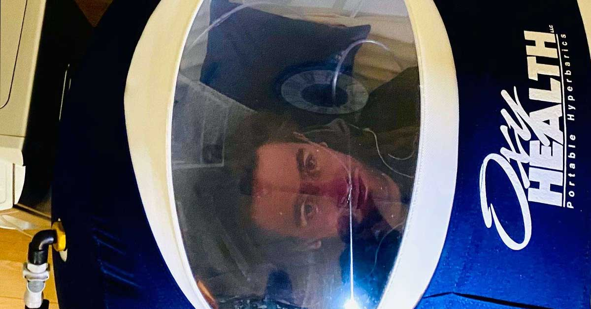 Hyperbaric chamber attracting out-of-town athletes to Edwards salon