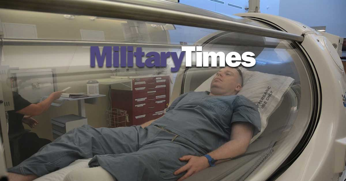 Hyperbaric Oxygen Therapy for Veterans with Traumatic Brain Injury & PTSD